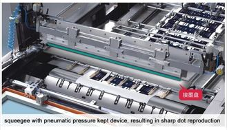 Multi Color Automatic Printing Machine Classical Stop Cylinder Screen Press