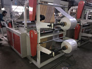 Servo Motor Sealing Bag Making Machine , CE Plastic Bag Making Equipment