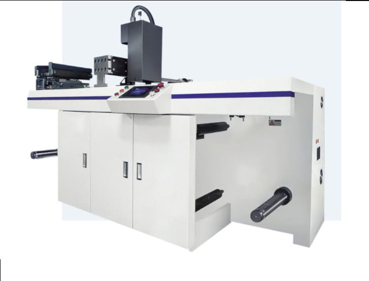 LED Lamp Label Inspection Rewinding Machine 300mm Max Rewinding Diameter