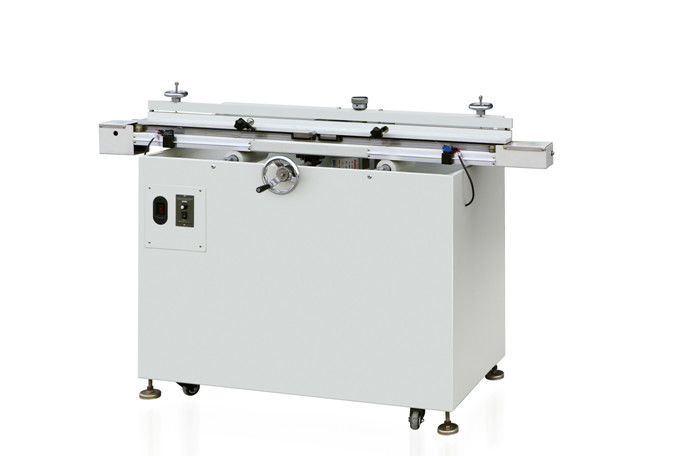 Flat Bed Microcomputer Screen Printing Press Machine Semi - Automatic Plane Paper / Plastic