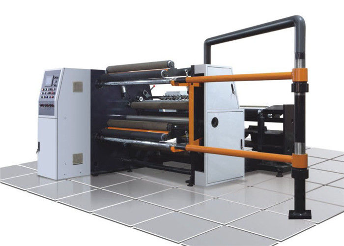 Paper / Plastic Film Slitting And Rewinding Machine For PET PVC And Package Industry