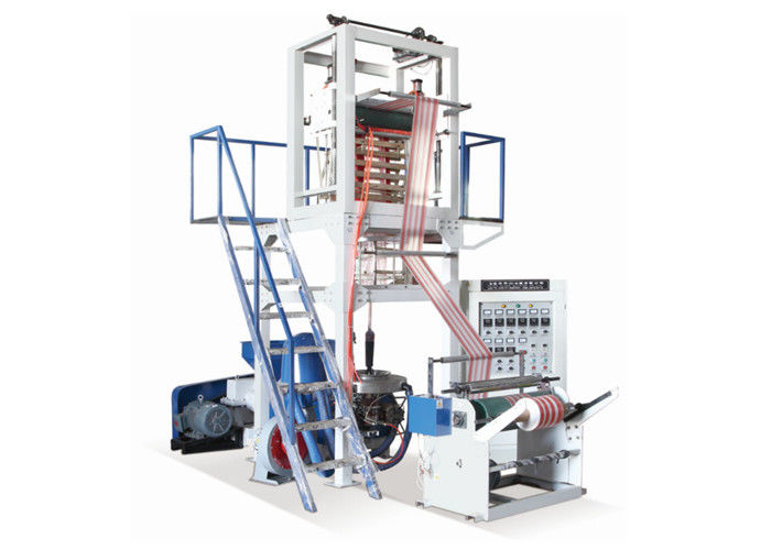 Double Color Strip Film Blowing Machine 600mm Max Folding Width Of Film