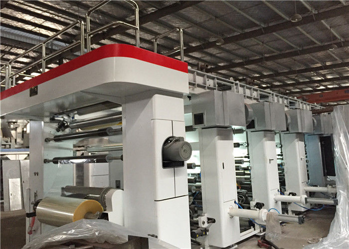 Automatic Register Rotogravure Printing Machine Soft Package Printing Press
