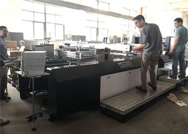 China Fully Automatic Window Patching Machine Screen Print Gluing For Paper / Carton Box factory