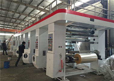 China Computer Control Gravure Printing Equipment Automatic Shaftless 300 M/Min Speed factory