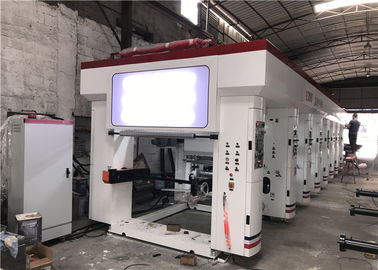 China BOPP CPP Alu Foil Precision Gravure Printing Machine 800 - 2500mm Printing Breadth factory