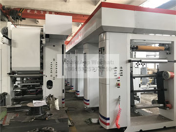 Bopp Or Pet Poly Film Automatic Label Printing Machine 180m / Min Speed