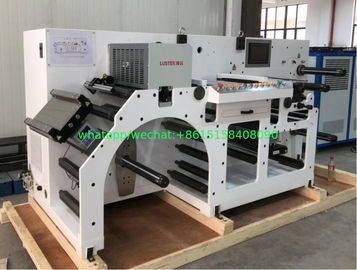 High Speed Inspection And Slitting Line Paper , Adhesive Label , PVC , PE And PP