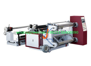 200mpm Horizontal Roll Slitting Machine BOPP PET CPP PVC Aluminum Foil And Paper