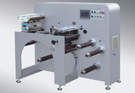 Narrow Roll Label Slitter Rewinder Machine 8 Sets Blades Installed CE Compliant