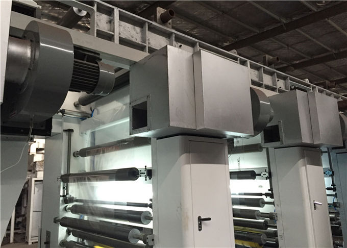 Double Station Structure Rotogravure Printing Machine For PE Aluminum Foil Material